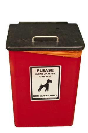 councils: un cane Contenitori per la raccolta dei rifiuti, previsto dal Comune per incoraggiare il pubblico a ripulire marciapiedi dopo che ci cani Archivio Fotografico