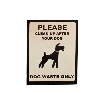councils: DSC08312 Un segno per lo smaltimento dei rifiuti cane Forniti dal consiglio comunale
