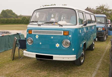 05552  A pretty VW camper van seen at a local car boot sales site