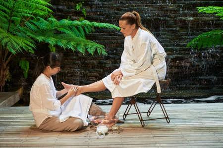 salts: asian foot massage salts gentle spa treatment