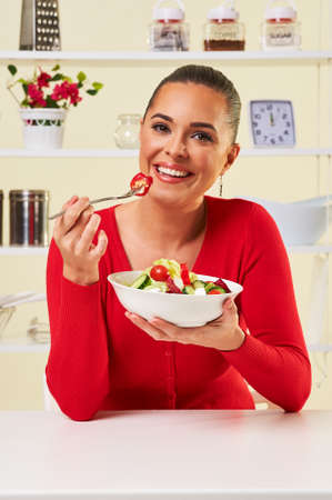 diet salad healthy eating weight loss food raw natural attractive