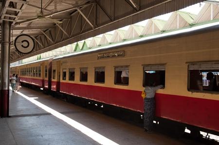 Myanmar: Yangon Gare