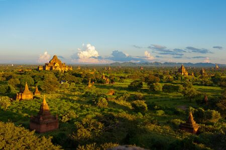 Moment Before Sunset, Bagan photo