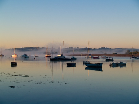 devon: Sunrise, Topsham, Devon