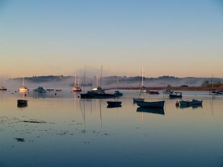 devon: Sunrise, Topsham, Devon