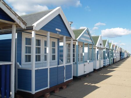 Beach Huts, Southwold, Suffolk        Stock Photo - 13266890
