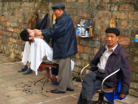 Outdoor Shave, Hanoi
