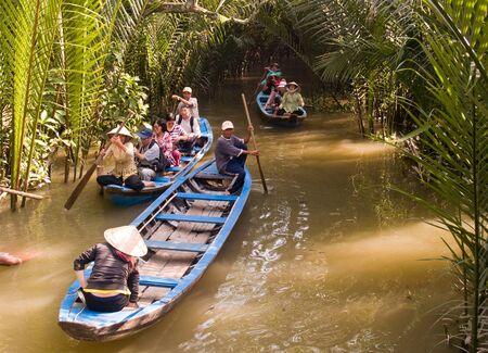 mekong: Mekong Delta Canoe Editorial