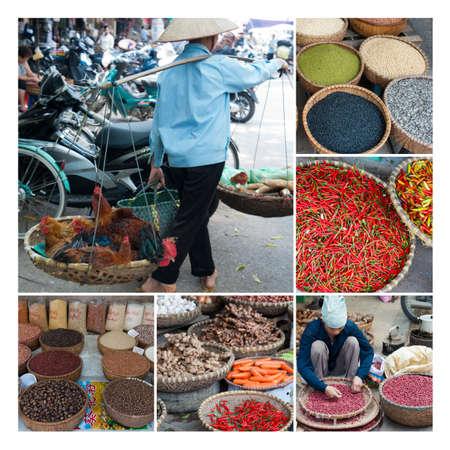 Market Collage Stock Photo - 13346920