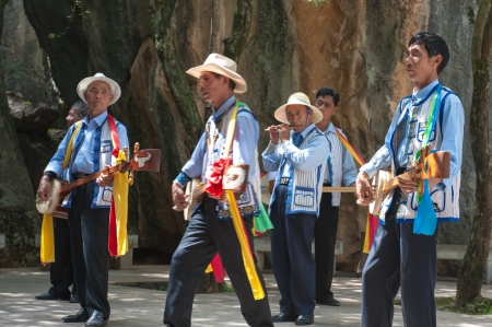 kunming: Kunming Stone Forest Musicians
