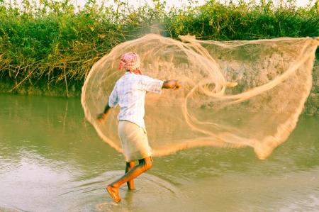 india fisherman: Fisherman, Kaziranga