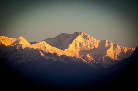 darjeeling: Kanchenjunga Stock Photo