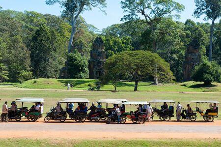 tuk: Tuk Tuks at Angkor