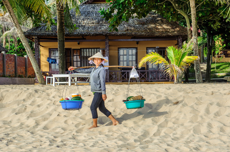 conical hat: Long Beach, Phu Quoc