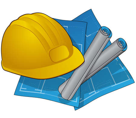 Home Construction Icon Vector