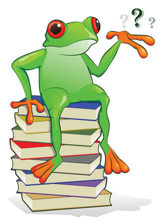 book mark: Book Frog