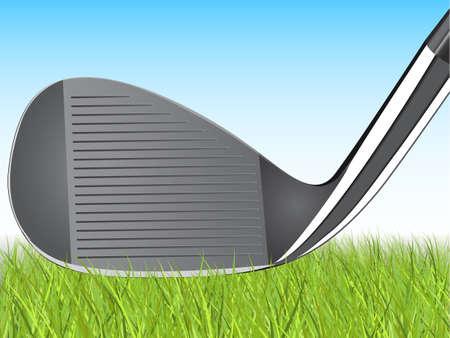 Golf Illustration Vector