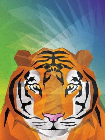 Tiger Illustration Stock Vector - 15311888
