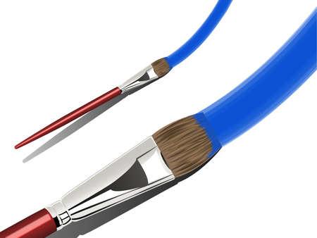 bristle: Artists Paint Brush