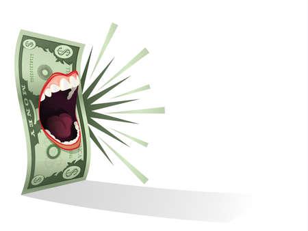 Money Talks Stock Vector - 15632588