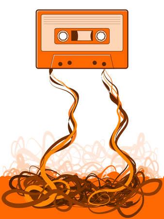 Cassette Tape Unraveled