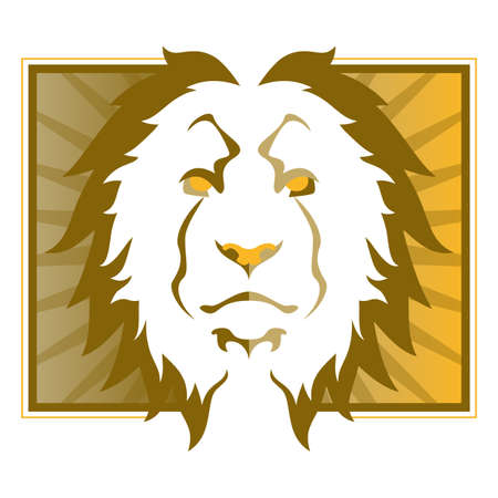 Lion Head Illustration Stock Vector - 15841791