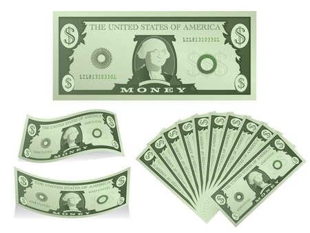 Dollars Stock Vector - 15932686