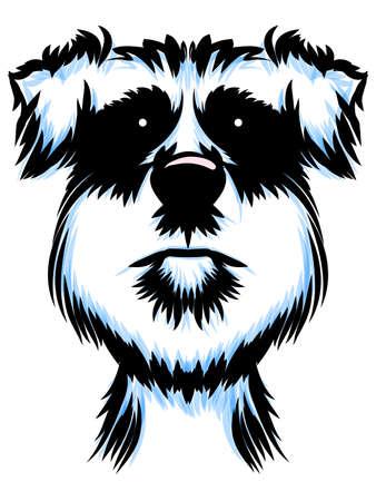 Terrier Dog Portrait Çizim