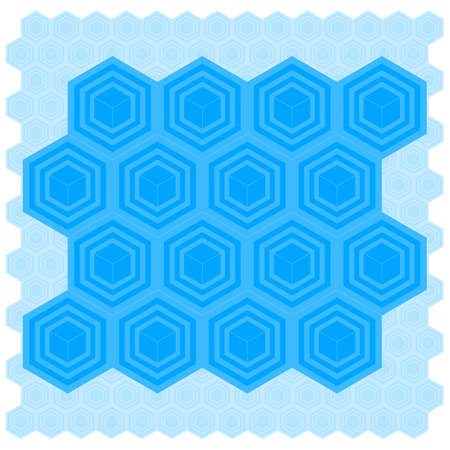 Cube Pattern Tile Vector
