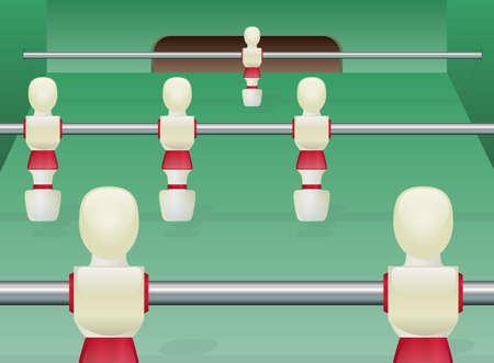 Tafelvoetbal Table Soccer