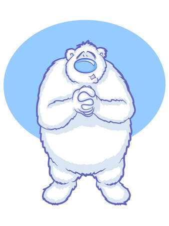 Polar Bear Cartoon Stock Vector - 16827824