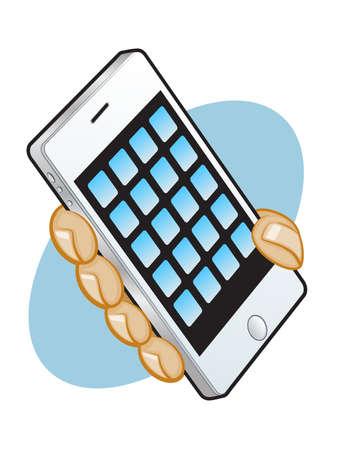 Smart Phone App Graphic