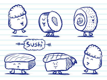 sushi restaurant: Sushi Doodles