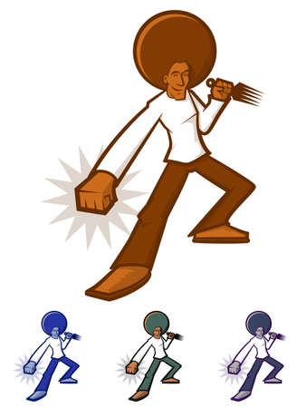 70s disco: Afro Man