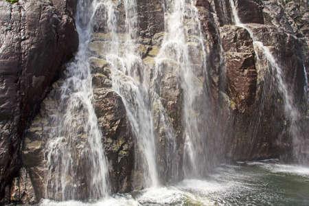 Rushing waterfall, Norway
