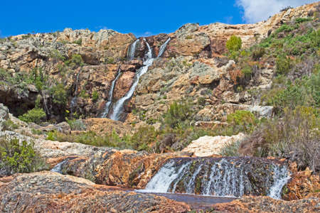 Waterfall near Tulbagh, South Africa Stockfoto