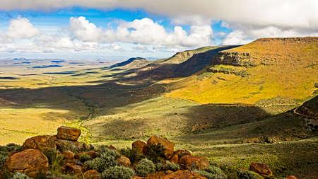 Gannaga pass climbing out of Tankwa Karoo