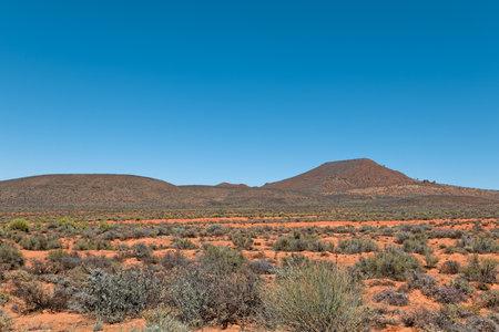 Isolated hills in Nama Karoo