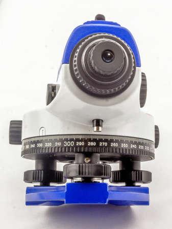 leveling device, white background Фото со стока