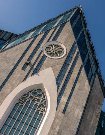 Former church in Leipzig, today main building of the university Stock Photo - 91123745