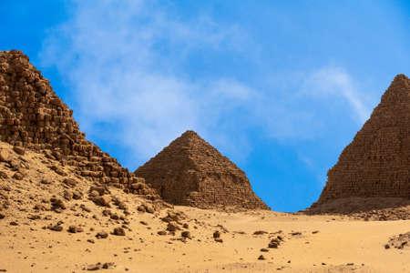 Pyramid of the Black Pharaohs of the Kush Empire in Sudan