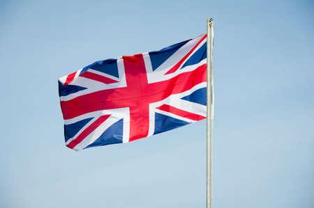 bandera de gran bretaña: Gran bandera de Gran Bretaña - Bandera del Reino Unido Foto de archivo