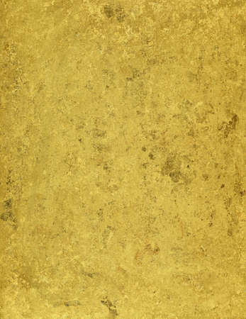 Grunge golden metallic texture. Golden painted metal plate. photo