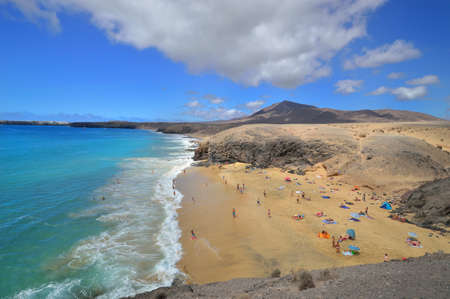 beach on Canary Islands photo