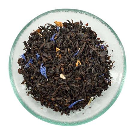 Lose Lady Grey Tee Variation auf der berühmten Earl Grey Tee Ein Licht schwarzer Tee mit Orange, Zitrone und Bergamotte Blumen infundiert Standard-Bild - 26117294