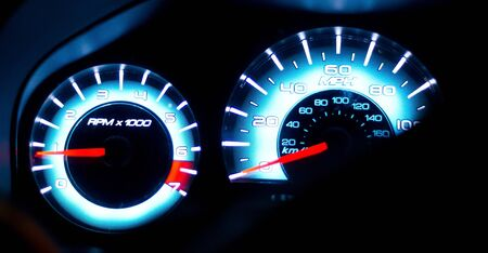 Instrument Cluster at Night