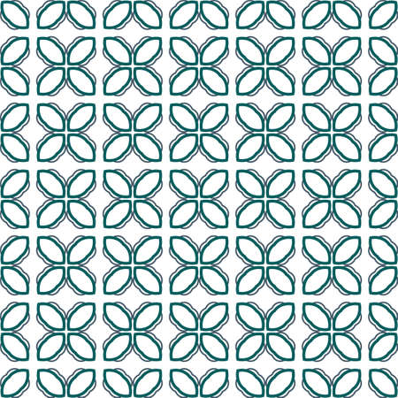 Geometric ornamental vector pattern. Seamless design texture. Ilustración de vector