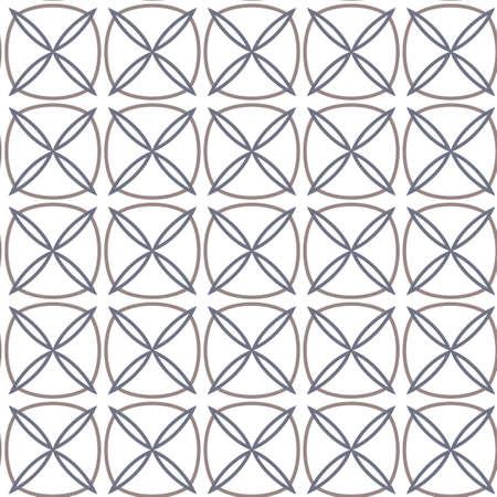 Textura de fondo abstracto en estilo ornamental geométrico. Diseño sin costuras. Ilustración de vector