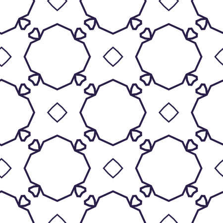 Seamless vector pattern. Background texture in geometric ornamental style. 向量圖像