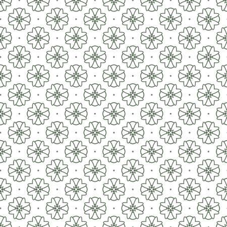 Modello vettoriale ornamentale geometrico senza soluzione di continuità. Sfondo astratto